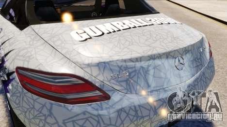 Mercedes Benz SLS AMG 2011 v3.0 [EPM] для GTA 4 вид сверху