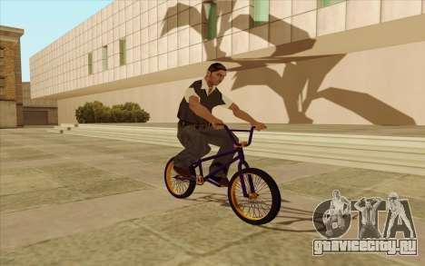 BMX для GTA San Andreas вид сзади слева