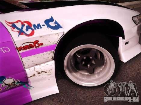 Nissan S13 Burst для GTA San Andreas салон