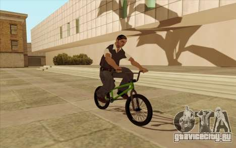 BMX для GTA San Andreas вид сбоку