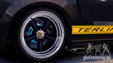 Shelby Terlingua Mustang для GTA 4 вид изнутри