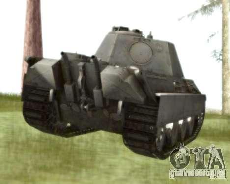 Pzkpfw V Panther II для GTA San Andreas вид справа