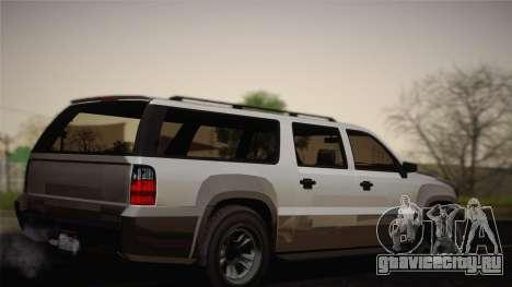 Granger Civil из GTA 5 для GTA San Andreas вид слева