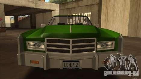 Esperanto HD from GTA 3 для GTA San Andreas вид сзади слева