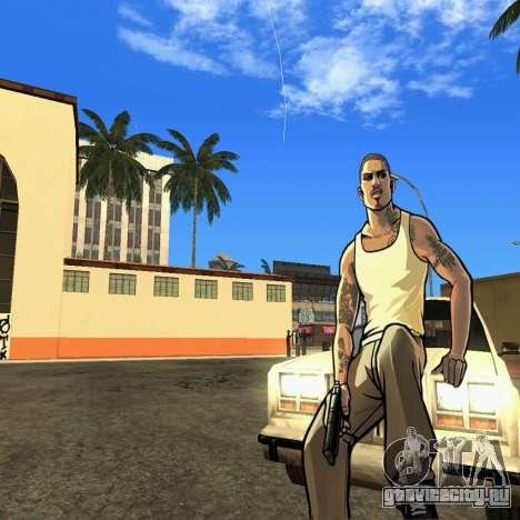 New HD Loadscreen для GTA San Andreas