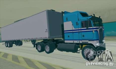 Kenworth K100 для GTA San Andreas вид слева