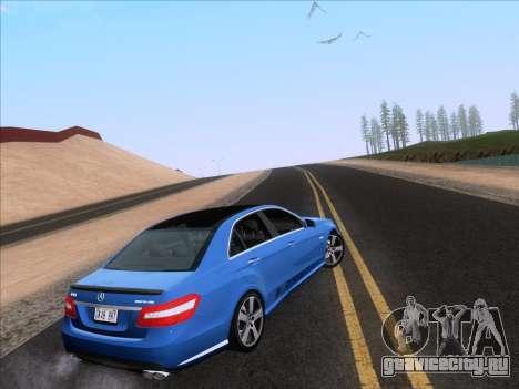 Mercedes-Benz E63 AMG 2011 Special Edition для GTA San Andreas вид слева