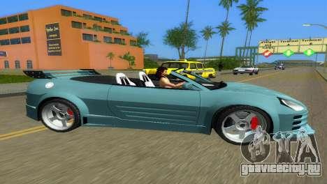 Mitsubishi Eclipse GT 2001 для GTA Vice City вид слева