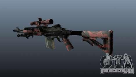 Снайперская винтовка M21 Mk14 v5 для GTA 4 второй скриншот