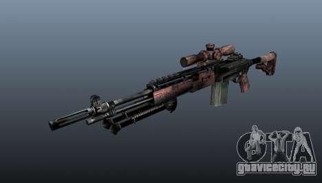 Снайперская винтовка M21 Mk14 v5 для GTA 4