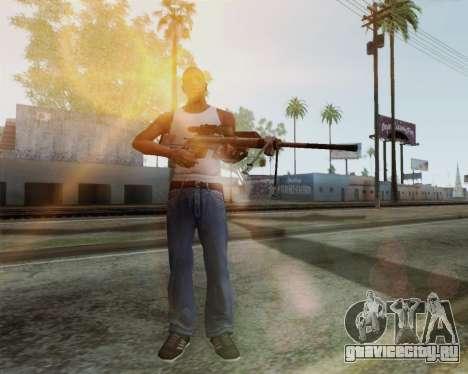 Снайперская винтовка из Call of Duty MW2 для GTA San Andreas второй скриншот