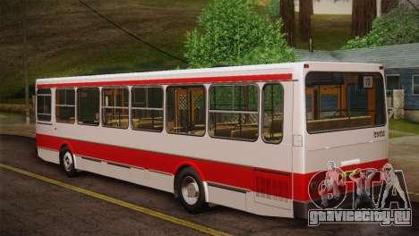 ЛиАЗ 5256.00 Скин-пак 2 для GTA San Andreas вид снизу