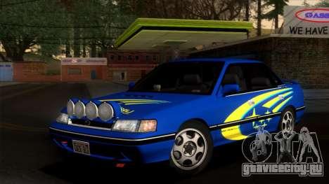 Subaru Legacy 2.0 RS (BC) 1989 для GTA San Andreas