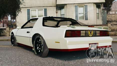 Pontiac Trans Am 1982 Beta v0.1 для GTA 4 вид слева