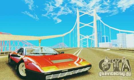 Ferrari 512 BB для GTA San Andreas вид слева