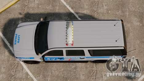 GTA V Declasse Police Ranger 3500PE [ELS] для GTA 4 вид справа