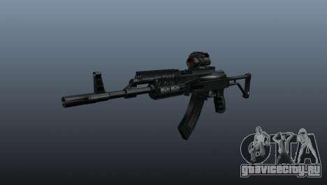 Автомат AK Sopmod 4 для GTA 4