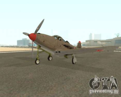 Aircobra P-39N для GTA San Andreas