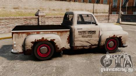 Ржавый старый грузовик для GTA 4 вид слева