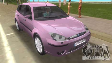 Ford Focus SVT для GTA Vice City