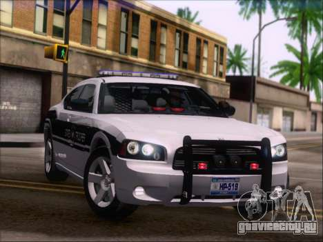 Dodge Charger San Andreas State Trooper для GTA San Andreas колёса