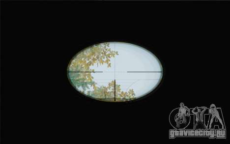 Enhanced Sniper Scope v1.1 для GTA San Andreas второй скриншот