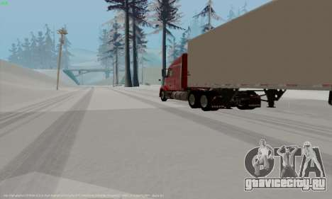 Volvo VNL 630 для GTA San Andreas вид справа