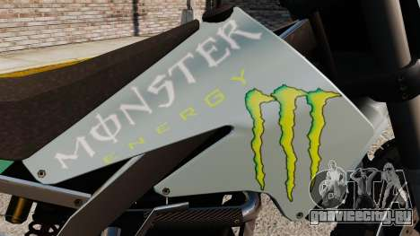 Sanchez Monster Energy для GTA 4 вид справа