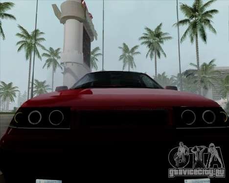 ВАЗ 2110 v2 для GTA San Andreas вид сбоку