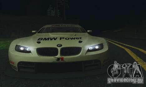 BMW M3 GT2 E92 ALMS для GTA San Andreas вид сбоку