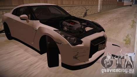 Nissan GT-R SpecV Ultimate Edition для GTA San Andreas вид справа