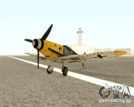 Bf-109 G6 v1.0 для GTA San Andreas