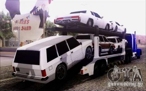 Article Trailer 3 для GTA San Andreas вид слева