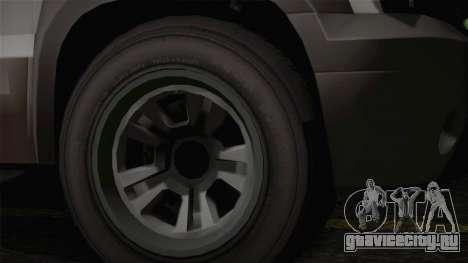 Granger Civil из GTA 5 для GTA San Andreas вид справа