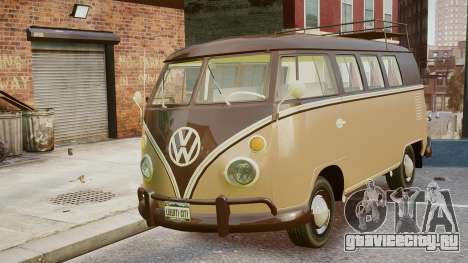 Volkswagen Transporter 1962 для GTA 4