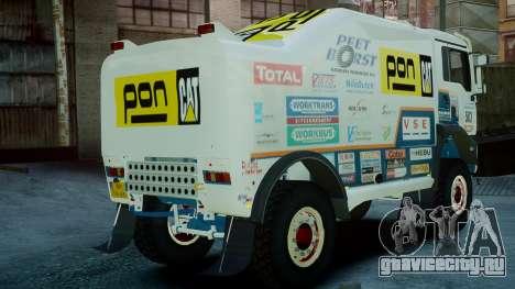 MAN TGA GINAF Dakar Race Truck для GTA 4 вид слева