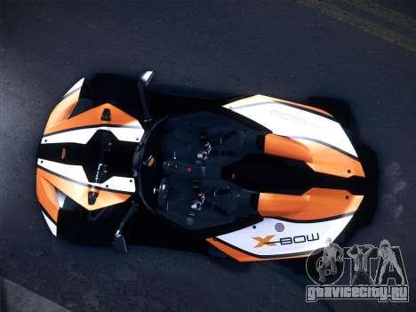 KTM Xbow R для GTA San Andreas вид слева