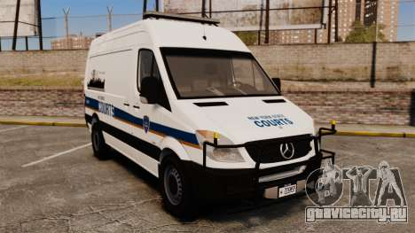 Mercedes-Benz Sprinter 2500 Prisoner Transport для GTA 4