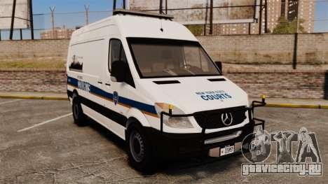 Mercedes-Benz Sprinter 2500 Prisoner Transport для GTA 4