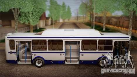ЛиАЗ 5256.57 2007 для GTA San Andreas вид сбоку