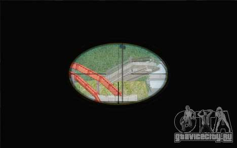 Enhanced Sniper Scope v1.1 для GTA San Andreas третий скриншот
