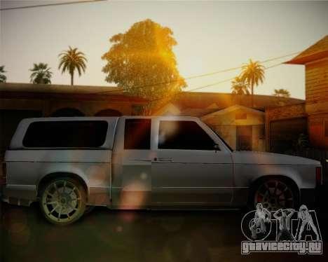 Isuzu KB для GTA San Andreas вид слева