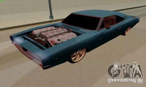 Dodge Charger 1969 Big Muscle для GTA San Andreas