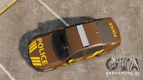 BMW 350i Indonesia Police v2 [ELS] для GTA 4 вид справа