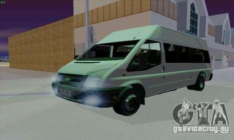 Ford Transit Jumgo для GTA San Andreas вид сверху