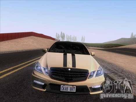 Mercedes-Benz E63 AMG 2011 Special Edition для GTA San Andreas вид справа