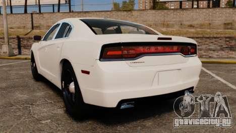 Dodge Charger 2014 для GTA 4 вид сзади слева