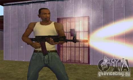 AK-12 для GTA San Andreas седьмой скриншот