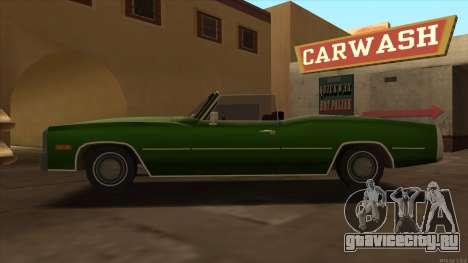 Esperanto HD from GTA 3 для GTA San Andreas вид слева