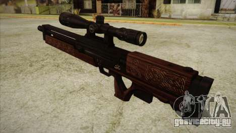 Walther WA2000 для GTA San Andreas второй скриншот